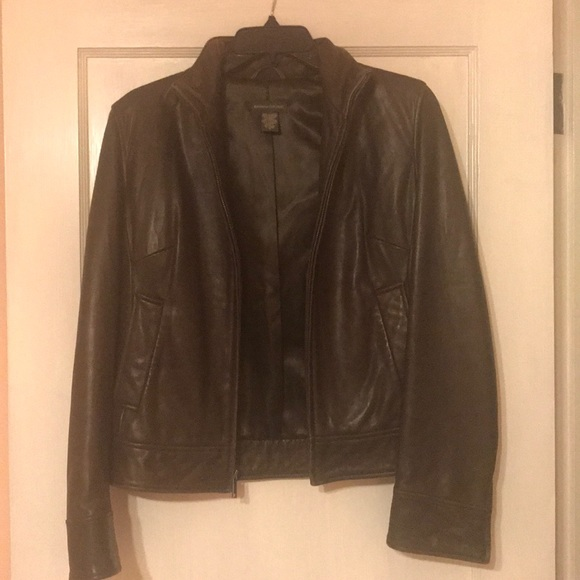Banana Republic Jackets & Blazers - Banana Republic Leather Jacket Size S